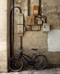 Un vélo, des compteurs